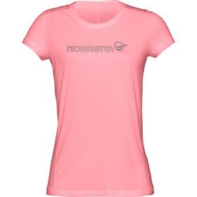 Norrøna /29 Tech Camiseta Mujer, geranium pink